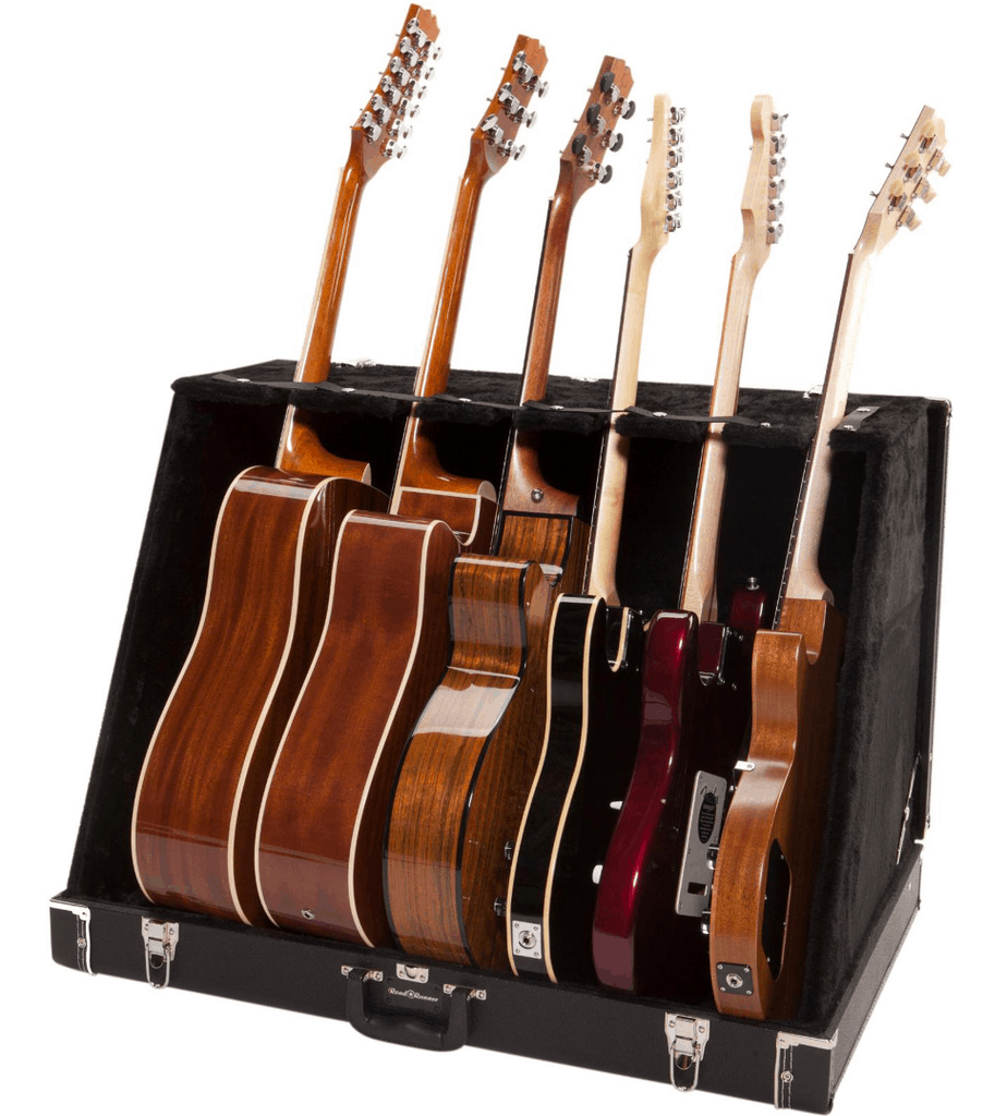 Road Runner RRGS6 6 Guitar Stand Case Black Tolex | Guitar Center