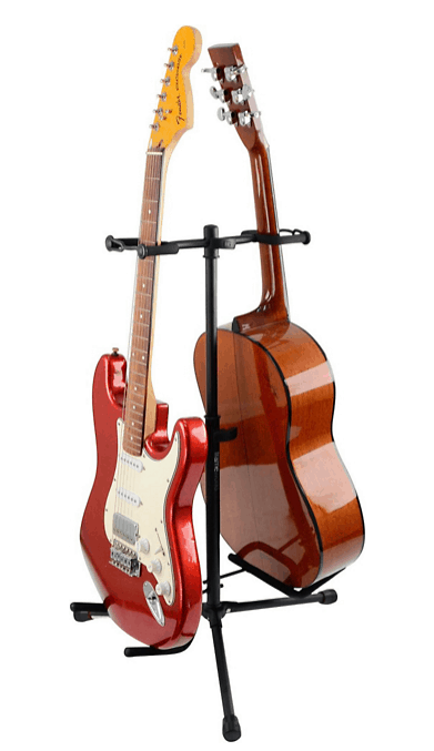 Gator Frameworks GFW-GTR-2000 Double Guitar Stand | Guitar Center
