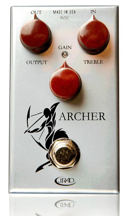 Rockett Pedals Archer Boost Overdrive Guitar Effects Pedal   Guitar Center