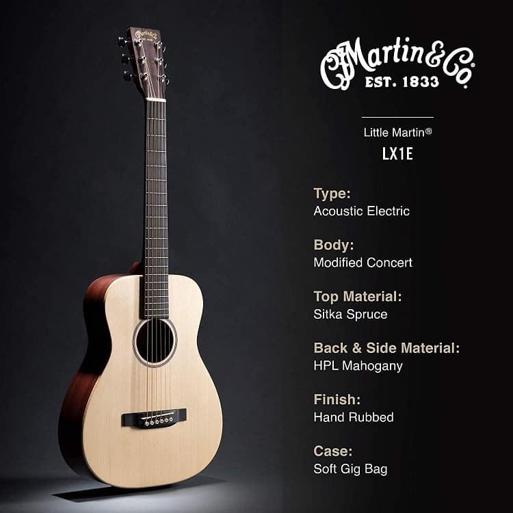 Martin LX1E Little Martin Acoustic-Electric