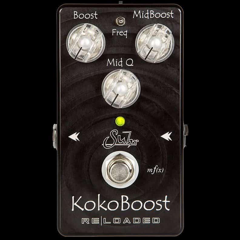 Suhr Koko Boost Reloaded Pedal 2020   Miami-Guitars   Reverb