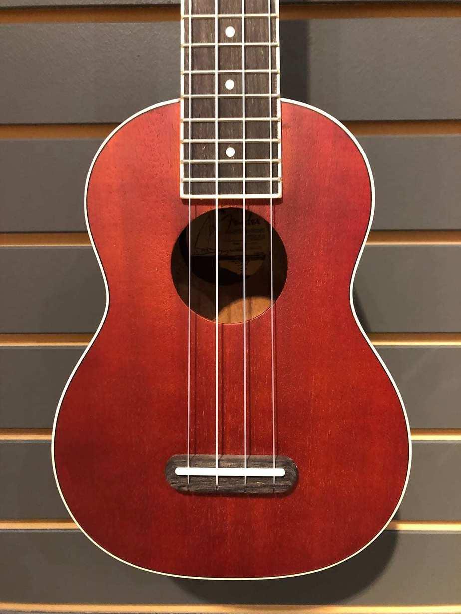 Fender California Coast Seaside Soprano Ukulele | Reverb