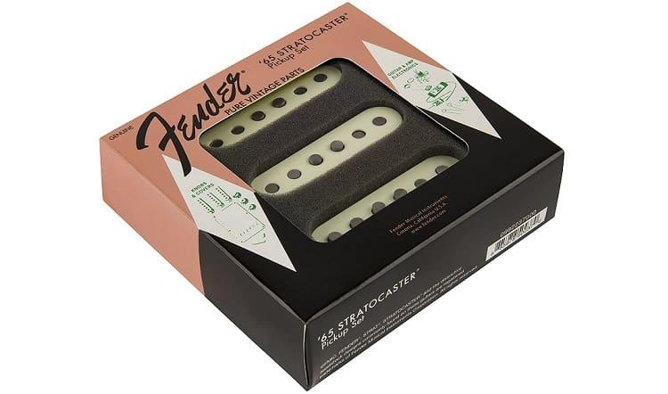 Fender Pure Vintage '65 Strat pastillas