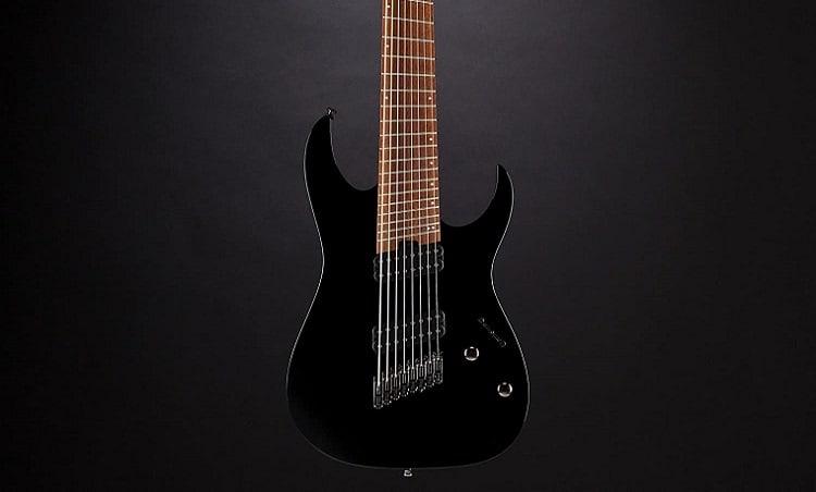 Ibanez RGMS8 Multi-Scale 8-String Electric Guitar