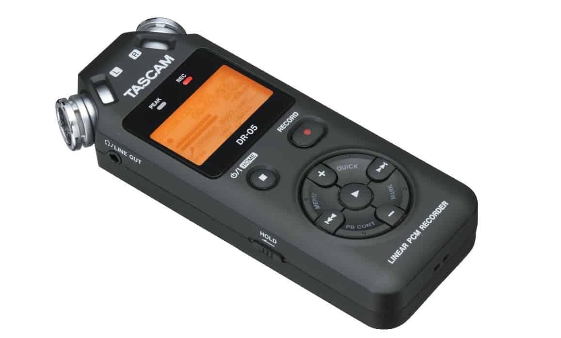 Tascam DR 05 vs Zoom H1