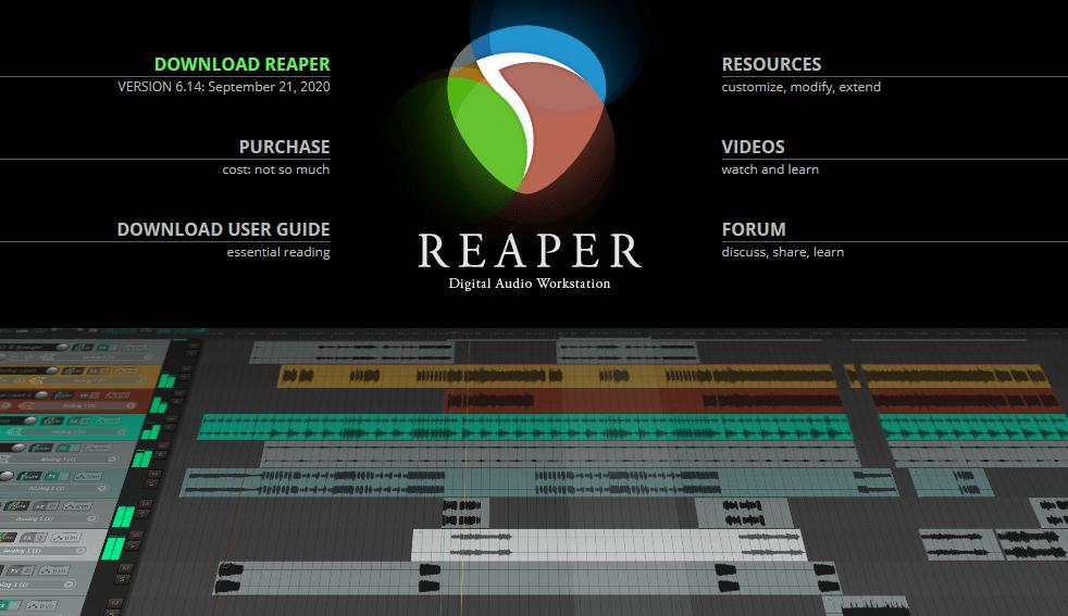 reaper vs studio one