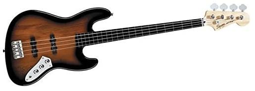 Fender Squier Vintage Modified Fretless Jazz Bass Guitar