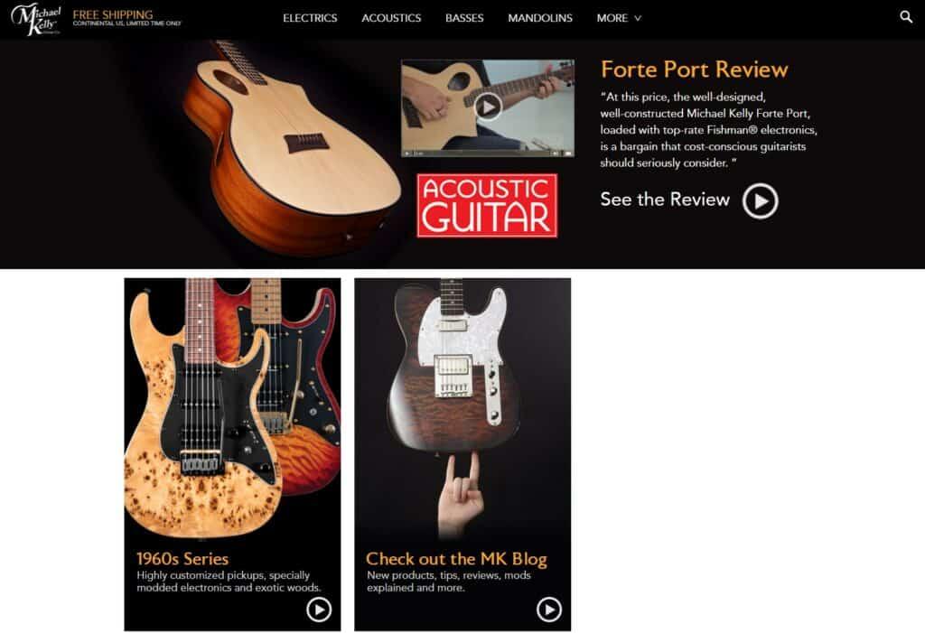 Michael Kelly Guitar