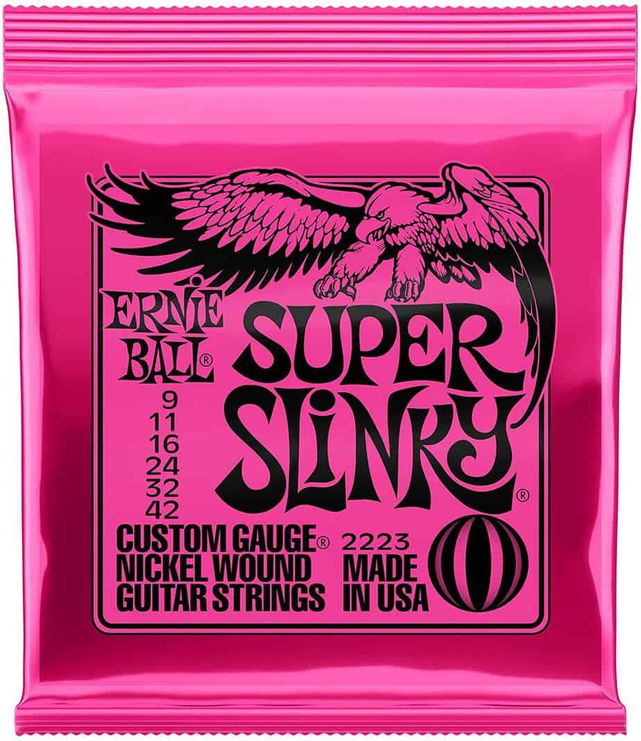 Ernie Ball Super Slinky Nickel Wound Set