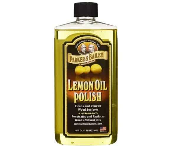 Parker & Bailey Natural Lemon Oil Polish | Amazon