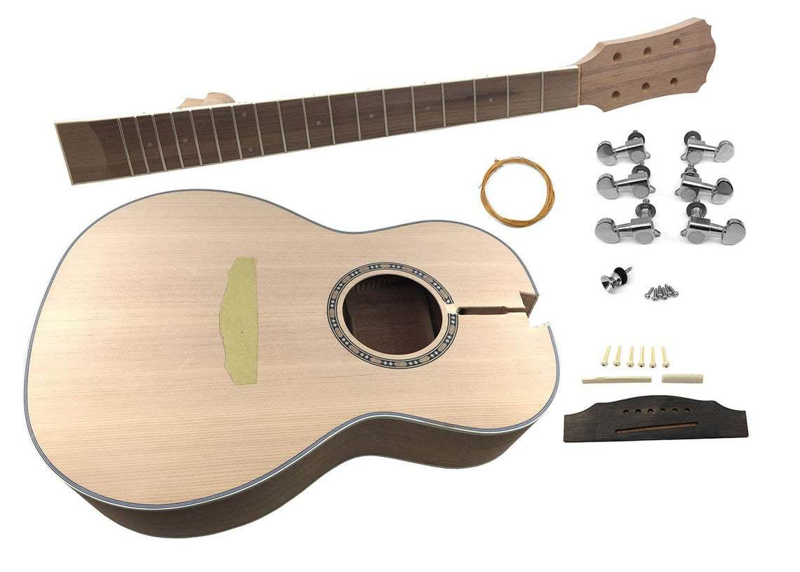 Solo APK-10 DIY Parlour Acoustic Guitar Kit | Etsy