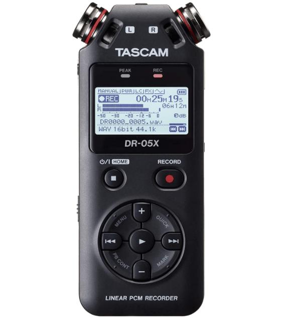 Tascam DR-05X Stereo Handheld Digital Recorder | Amazon