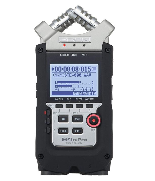 Zoom H4n Pro 4-Track Portable Recorder | Amazon