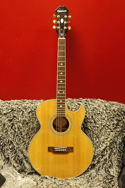 Epiphone PR-5E Acoustic/Electric Guitar   Reverb